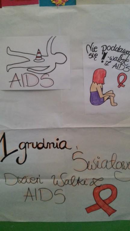 1 Grudnia światowy Dzień Walki Z Hivaids Szkoła